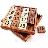 Logica Giochi art. TAQUIN - Casse-Têtes En Bois - 2 JEUX EN 1