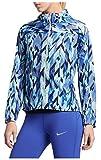 NIKE Women's Impossibly Light Running Jacket-Binary Blue-Medium