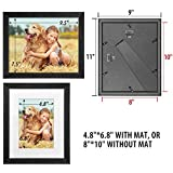 Ophanie 8x10 Picture Frames Set of 5, Easy Setup