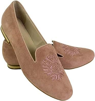 Shirin Sehan Alessia - Mocasines Para Mujer Rose: Amazon.es: Zapatos y complementos