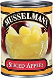 Musselmans Sliced Apple in Water, 20 Ounce (Pack of 12)