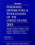 Publishers, Distributors and Wholesalers of the United States, 2013, , 1592379737