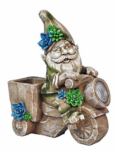 Gnome Planter (Solar Powered Gnome Planter Light)