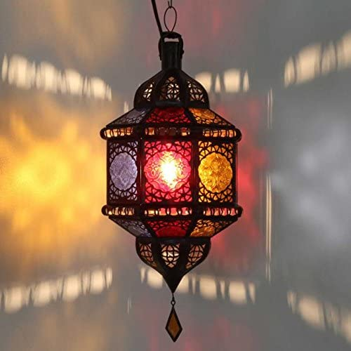 Lampe suspendue orientale Marocain Véritable artisanat en