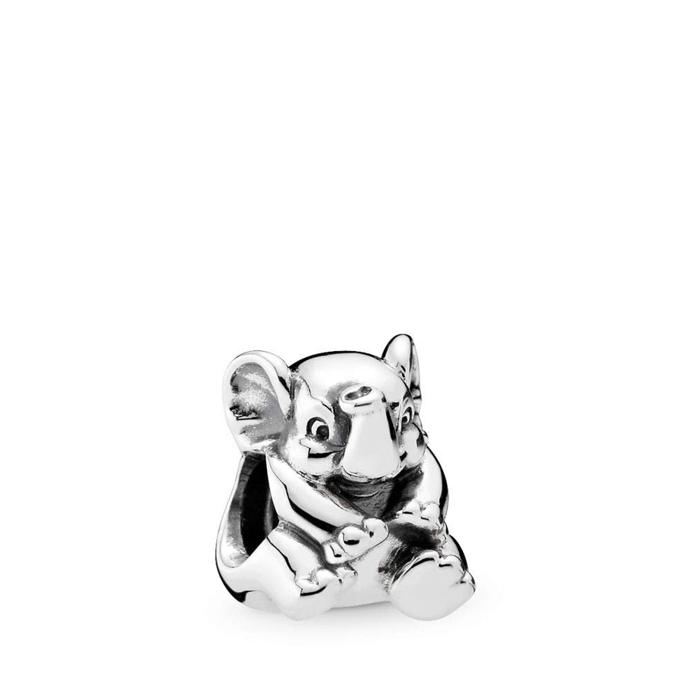 PANDORA Lucky Elephant Charm, Sterling Silver, One Size by PANDORA