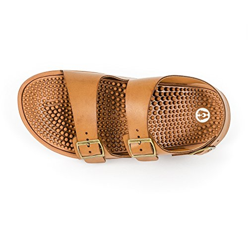 principes le qui de réflexologie pied en Revs des la massent beige sandales les suivant FUwvSqz