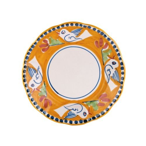 (Vietri Uccello Salad Plate - Campagna Collection)