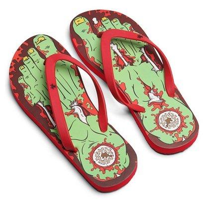 Zombie Flip Flops - Large