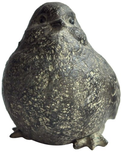 Top Collection 4235 Miniature Fairy Garden and Terrarium Garden Stone Bird Statue (Stone Dog Cast)