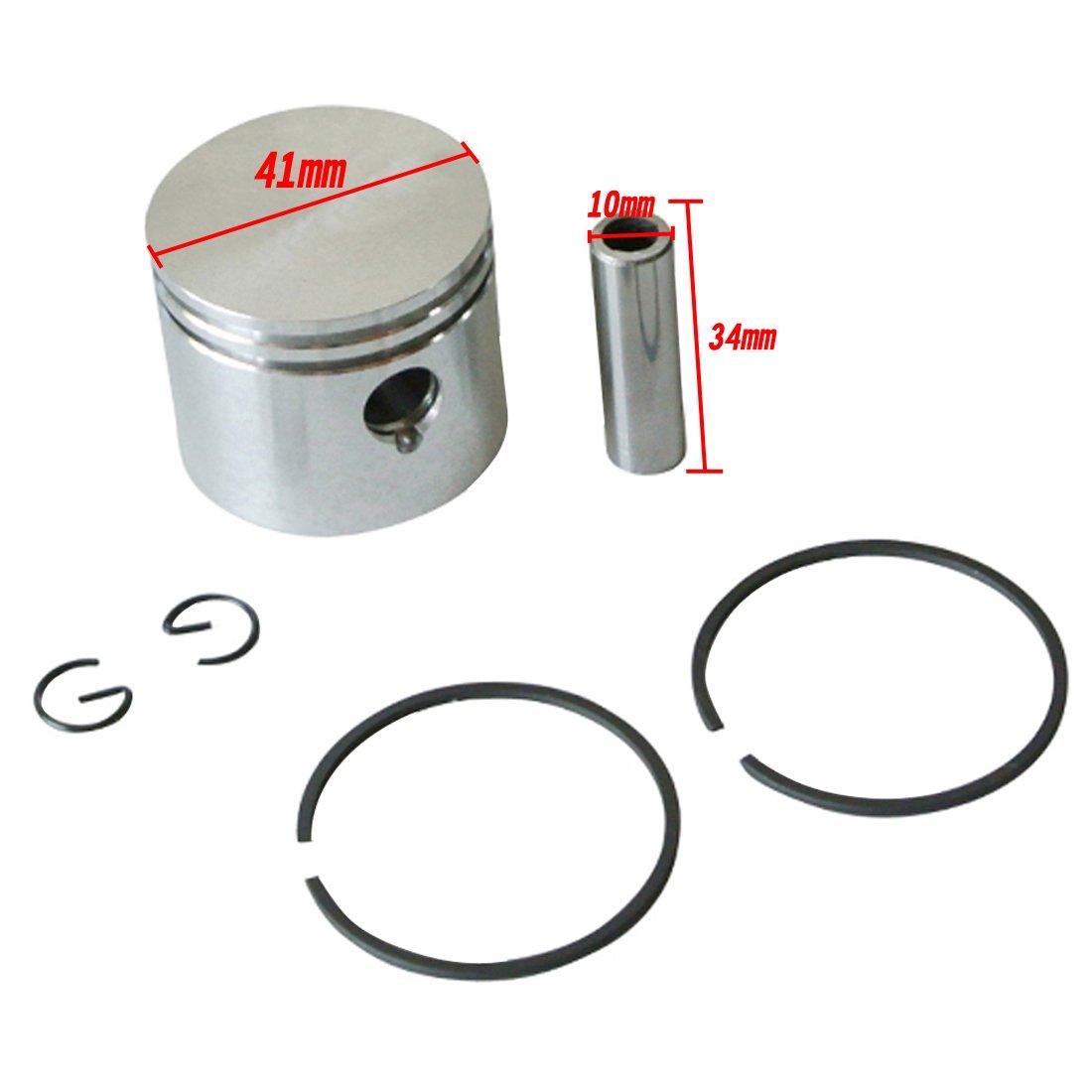 41 mm Piston kit Fit Partner Poulan 220 221 260 350 351 tronçonneuse moteur