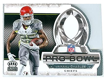 Image Unavailable. Image not available for. Color  Jamaal Charles football  card (Kansas City Chiefs All Pro) 2015 ... f2dee090d