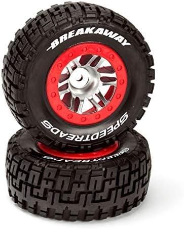 SpeedTreads ブレイクアウェイ SC タイヤ フロントマウント (2): Traxxas Slash