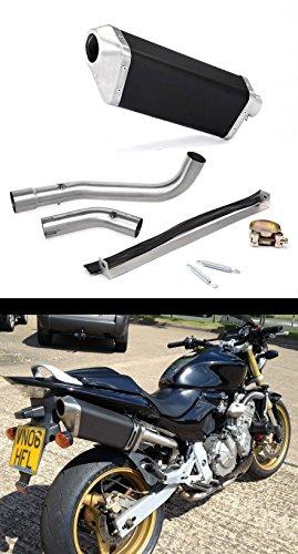 2003-2006 Honda Hornet 600/CB 599 Danmoto JISU Black Exhaust