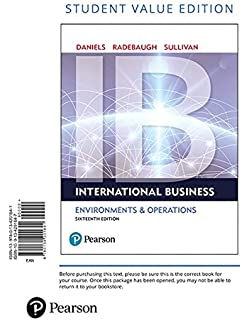 International business 16th edition 9780134200057 economics international business student value edition 16th edition fandeluxe Image collections
