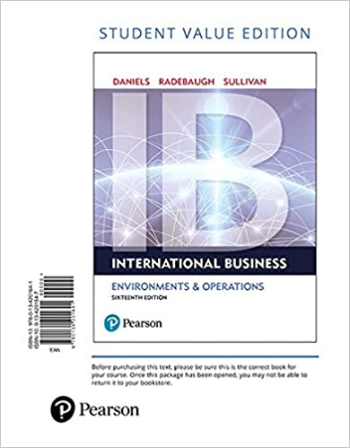 International business student value edition 16th edition international business student value edition 16th edition 16th edition fandeluxe