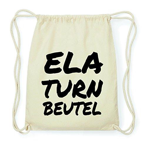 JOllify ELA Hipster Turnbeutel Tasche Rucksack aus Baumwolle - Farbe: natur Design: Turnbeutel
