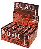 The Big Easy Tobacco Co, Holland Quicklite Charcoal, Easy Quick Lighting Charcoal for Hookah, 100 Round Tablets