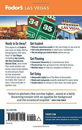 51kYI3C1dNL - Fodor's Las Vegas (Full-color Travel Guide)