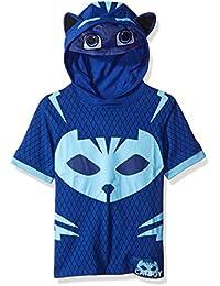 PJ Masks Boys' Gekko and Catboy Hoodie and Tee