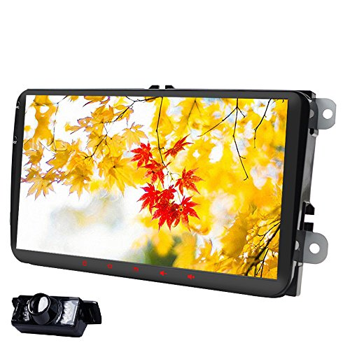 9 inch Double Din In Dash Car Stereo for VW Volkswagen Golf Passat Polo...
