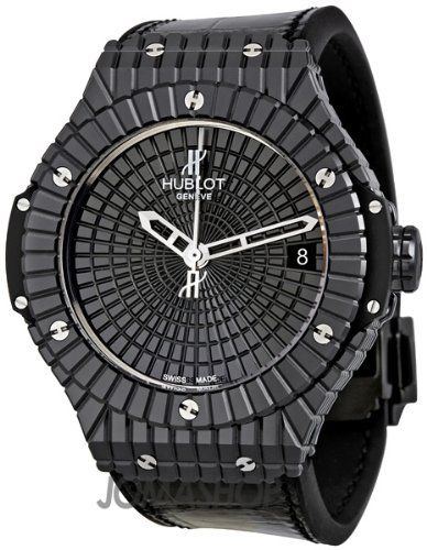 Hublot Big Bang Caviar Black Ceramic Mens Watch 346CX1800BR