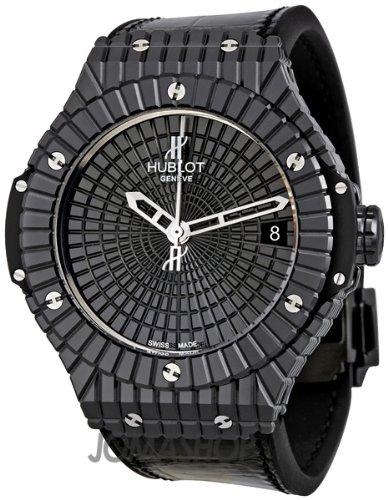 Hublot Big Bang Caviar Black Ceramic Mens Watch 346CX1800BR