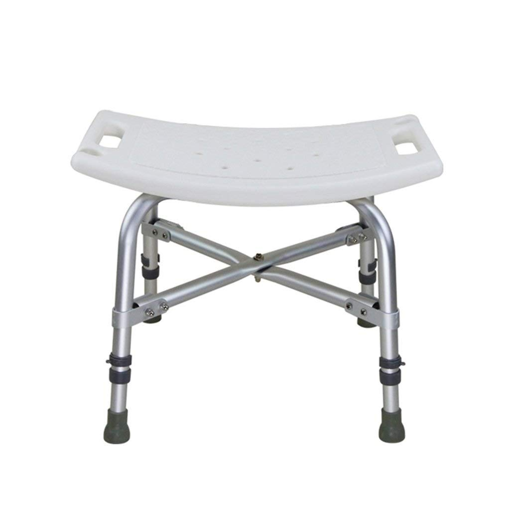 THUTNchar Bath Chair for Pregnant Women and Aluminum Alloy Shower Seats Stool Elderly Handicapped Bathroom Safety Chair with Invisible Handrail Load-Bearing 226kg