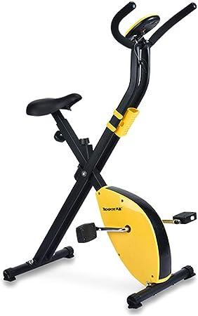 STCRY Bicicleta Estática Plegable de Fitness Spinning para Mute ...