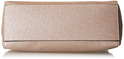 Silvian Heach RCP18078BO, Borsa a Tracolla Donna, Oro (Pink Gold), 14,50x27x33 cm