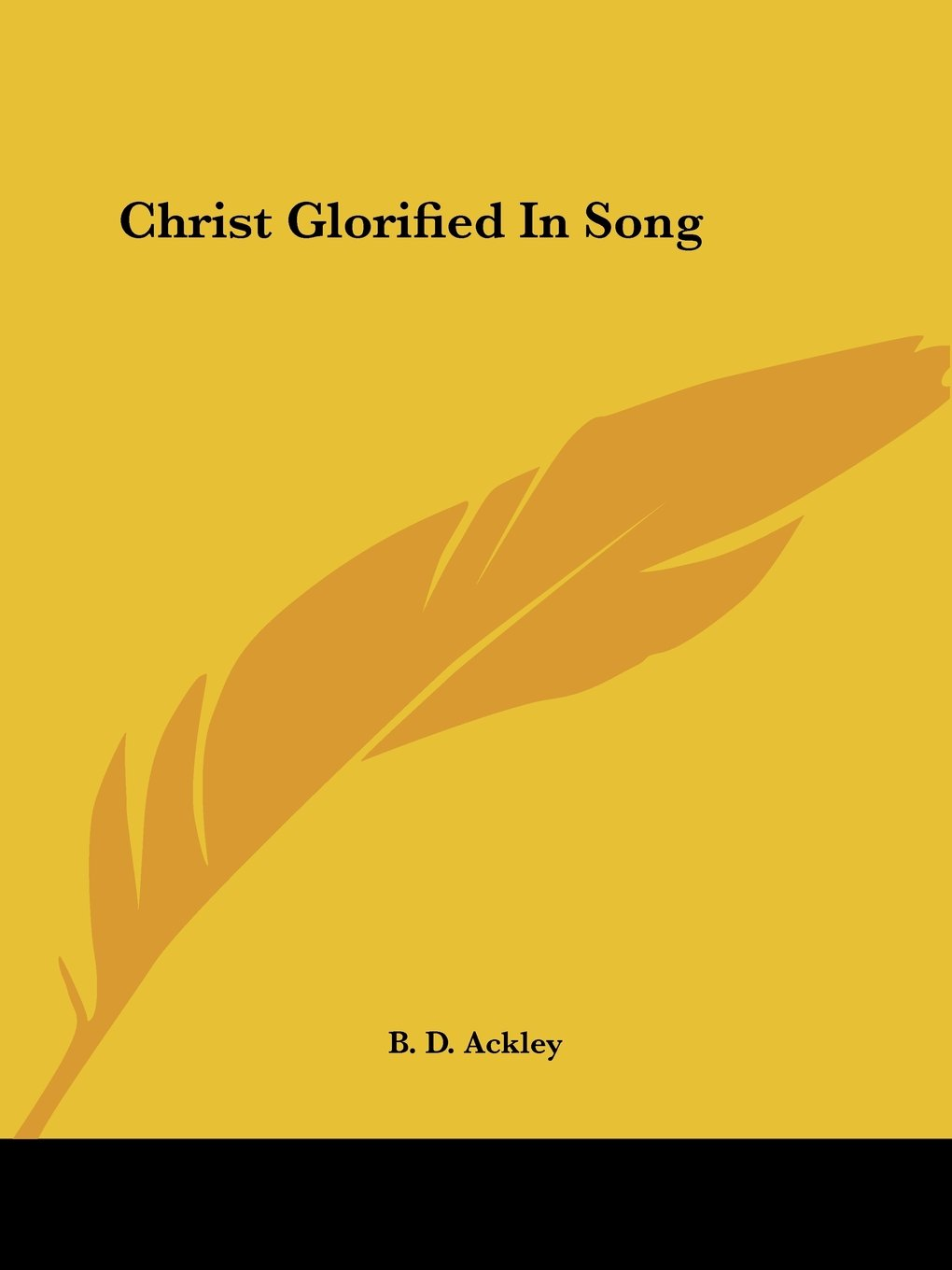 Christ Glorified In Song PDF