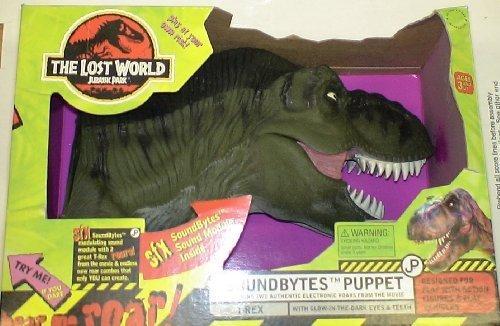 Jurassic Park the Lost World Tyrannosaurus Rex Soundbytes Puppet