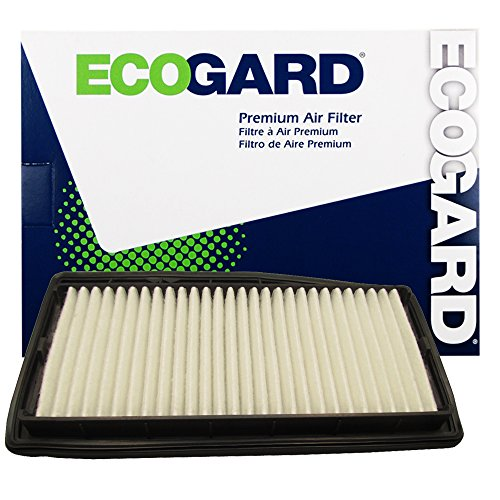 ECOGARD XA10187 Premium Engine Air Filter Fits Chevrolet Spark 1.2L 2013-2015