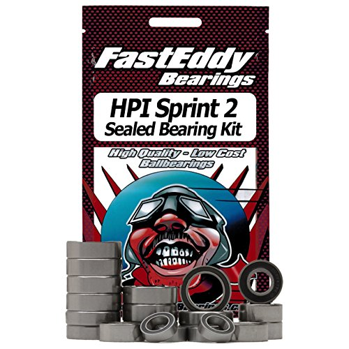 HPI Sprint 2 Drift Sealed Ball Bearing Kit for RC Cars