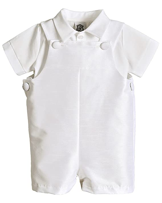 8acc0250f Amazon.com: Johnny Christening Baptism Blessing Outfit for Boys, Made in  USA: Clothing
