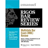 Multistate Bar Exam 2009, Rigos, 0735578397