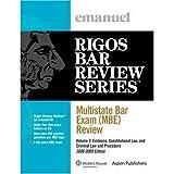 Multistate Bar Exam 2009, Rigos, 0735578397