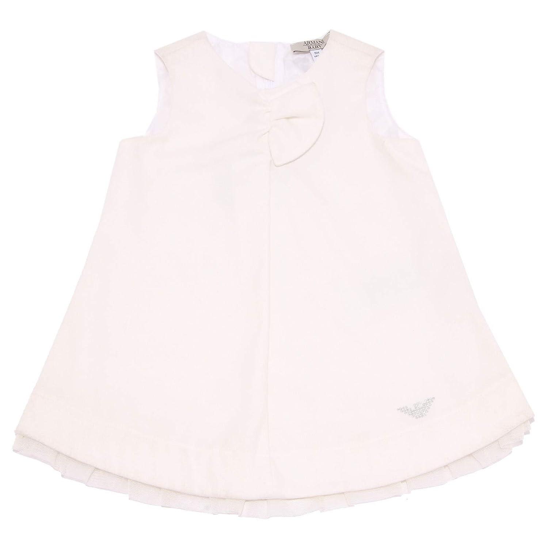 Bianco 9 MONTHS 0948Z Abito Bimba Arhommei   Vestito blanc Sleeveless Robe