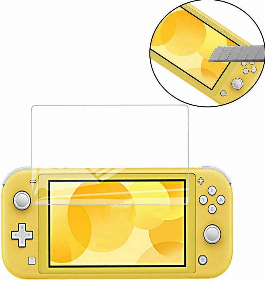 MUNDDY Protector de Pantalla para Nintendo Switch Lite Cristal Vidrio Templado,Espesor 0,30 mm,2.5D Round Edge,[9H Dureza] [Alta Transparencia] [Envio urgente 48H] (10 Protectores)