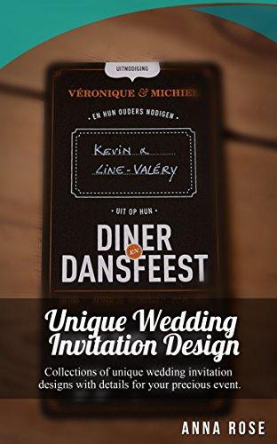 (Unique Wedding Invitation Design )