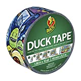 Duck Brand 281497 Printed Duct Tape, Graffiti, 1.88 Inches x 10 Yards, Single Roll