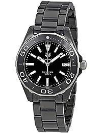 Aquaracer Lady 300M 35mm Black Ceramic Watch WAY1390.BH0716. TAG Heuer