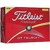 Titleist DT Tru Soft Golf Ball (Yellow)