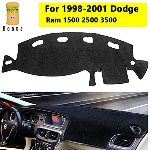 Big Ant Carpet Dashboard Cover for Dodge Ram 1500 2500 3500 1998-2001 Carpet Dash Mat, Custom Fit Dashboard Protector, Easy Installation, Reduces Glare, Eliminates Cracking