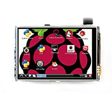 TFT Touch Screen, The perseids 3.5 inch High Resolution HDMI Monitor Resistive LCD Touch Screen TFT LCD Display for Raspberry Pi 3/2/Model B/B+ (3.5 Inch Raspberry Pi LCD Display)