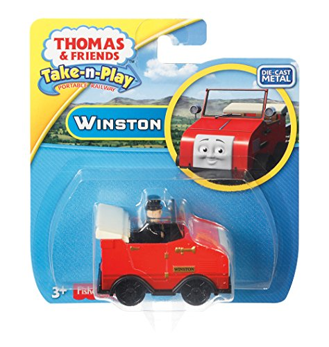 (Fisher-Price Thomas & Friends Take-n-Play, Winston Diecast)