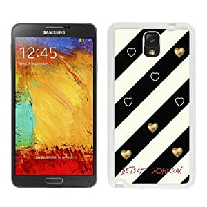 High Quality Samsung Galaxy Note 3 Case ,Cool And Fantastic Designed Case With Betsey Johnson 07 White Samsung Galaxy Note 3 Cover