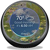 MightySkins Skin for Amazon Echo Spot - Water Lilies | Protective, Durable, and Unique Vinyl Decal wrap Cover | Easy to Apply, Remove, and Change Styles | Made in The USA