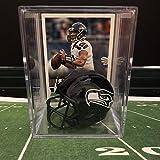 Seattle Seahawks NFL Helmet Shadowbox w/Russell