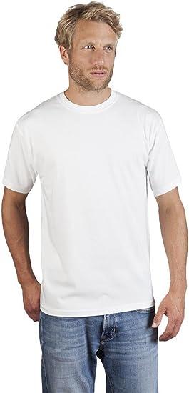 Promodoro Original Premium Herren T Shirt – Übergröße Casual Shirts von XS bis 5XL & Kordelzug Tasche