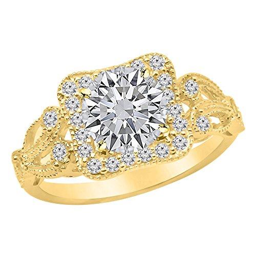 0.95 Ct Tw Round Diamonds - 6